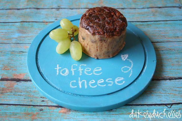 painted cheese platter with chalkboard coating