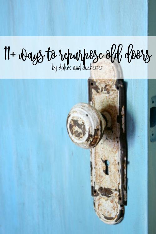 11 ways to repurpose old doors