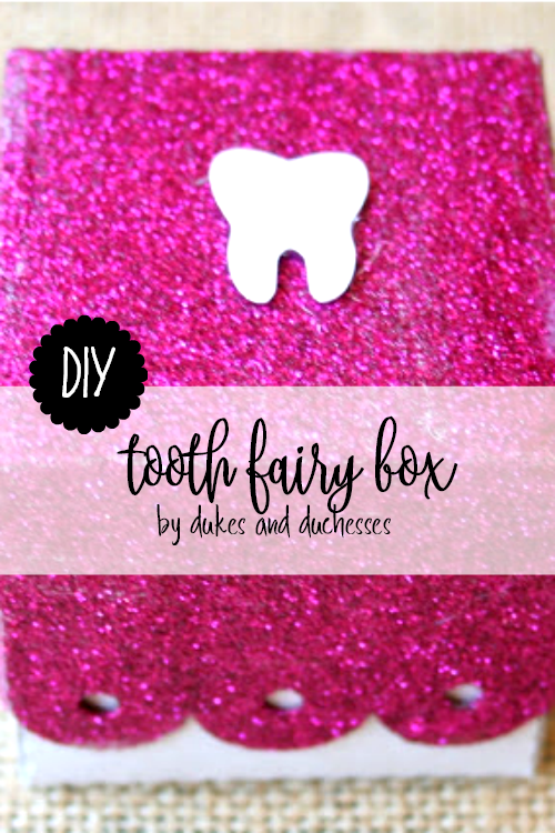 DIY tooth fairy box