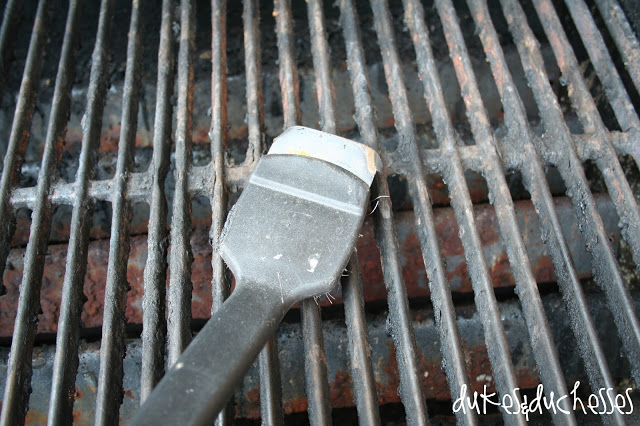an amateur's guide to cleaning the grill