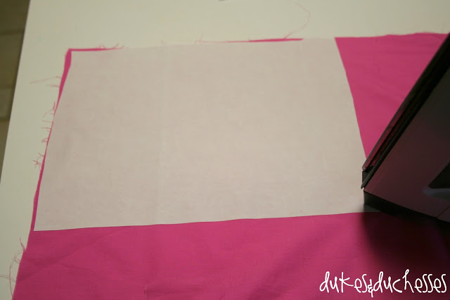 using Silhouette fabric interfacing