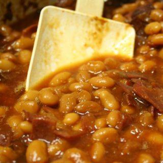 The Best Crockpot Baked Beans