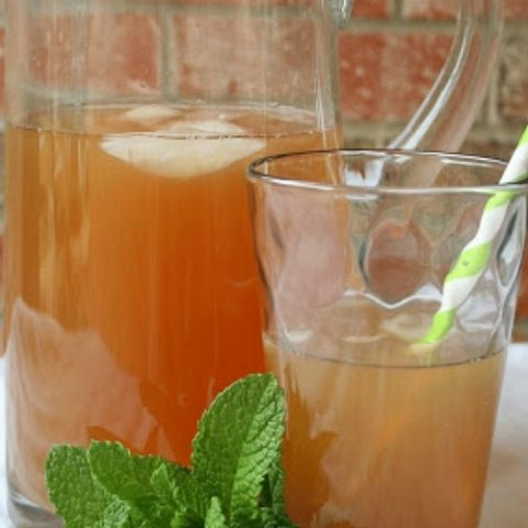 mint lemonade iced tea