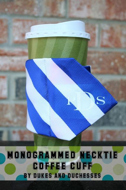 neck tie coffee cuff