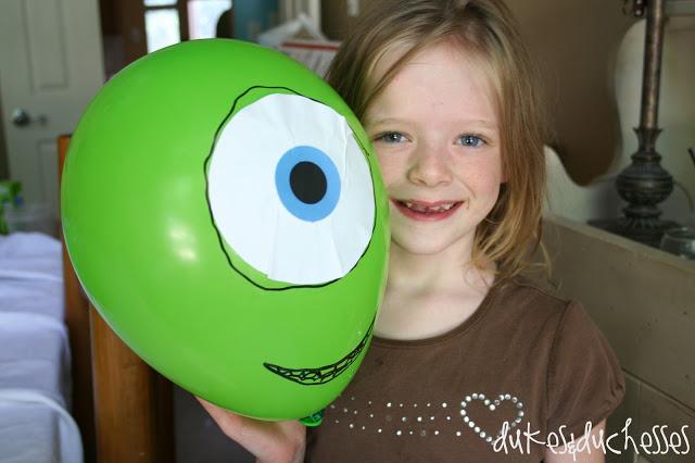 Mike Wazowski balloon