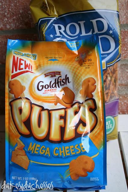 new Goldfish Puffs snacks