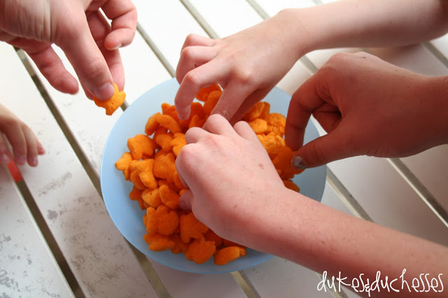 Goldfish Puffs snacks for the family