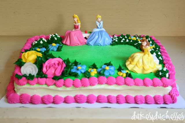 princess DecoPac cake
