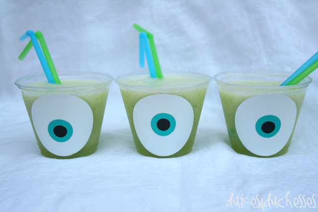 vinyl Mike Wazowski cups #MonstersU