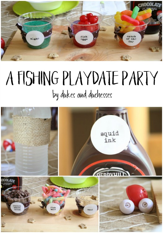 fishing playdate party