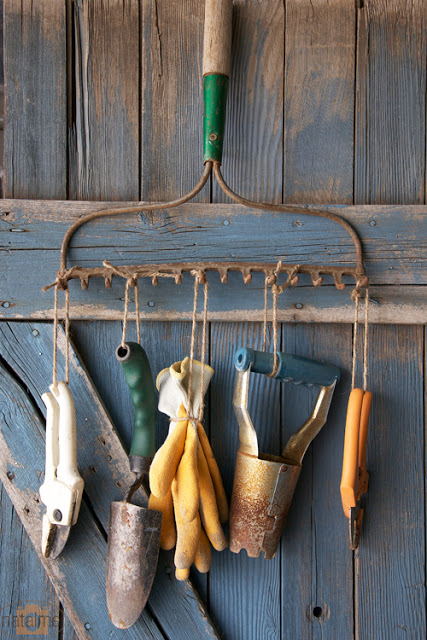 10 ways to repurpose old garden tools
