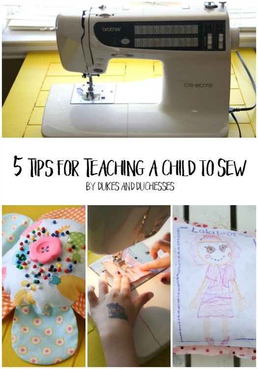 5 tips for teaching a child to sew