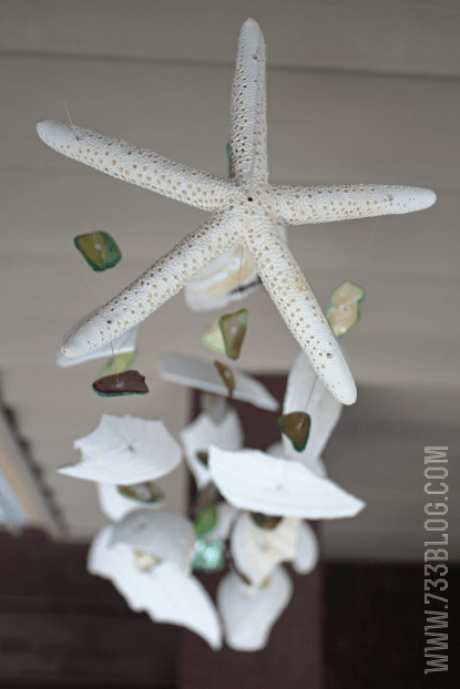 shell crafts :: wind chimes