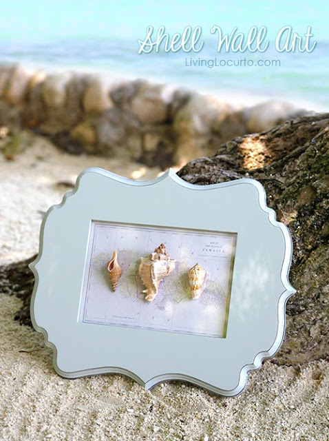 shell crafts :: shell wall art