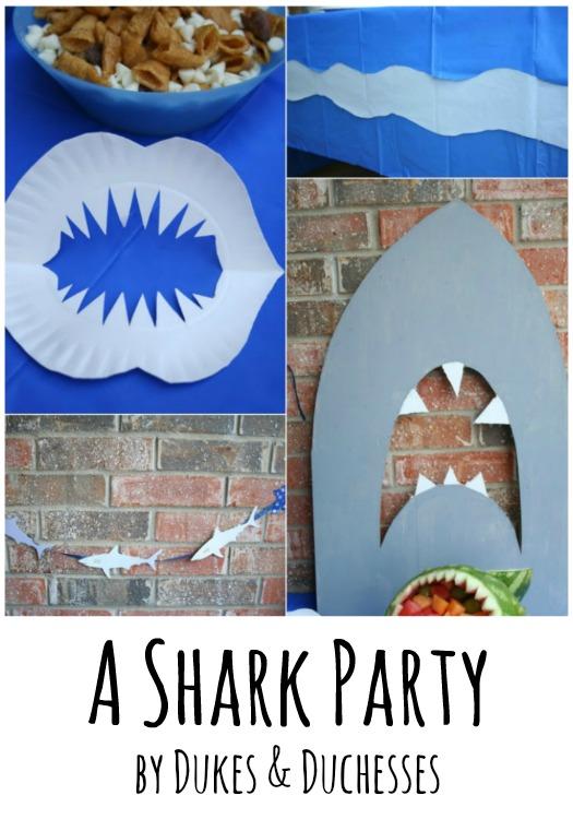 a shark party