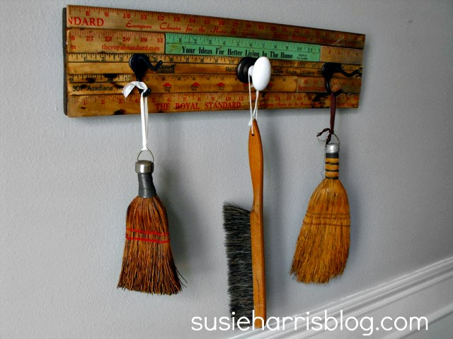 repurposed yardstick ideas
