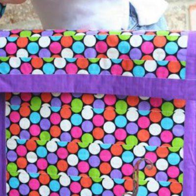 Monogrammed Duck Tape® Messenger Bag