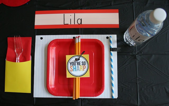 10 back to school ideas :: back to school party