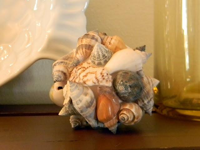 shell crafts :: shell ball