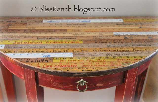 Yardstick ideas on Pinterest Yard Sticks, Tables and Crates