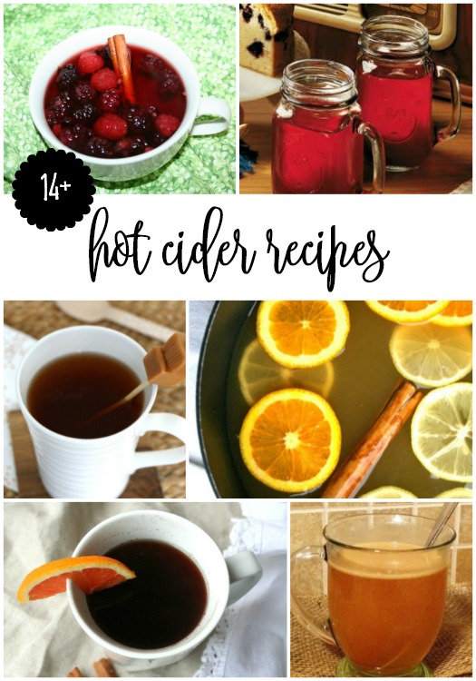 14 hot cider recipes for fall