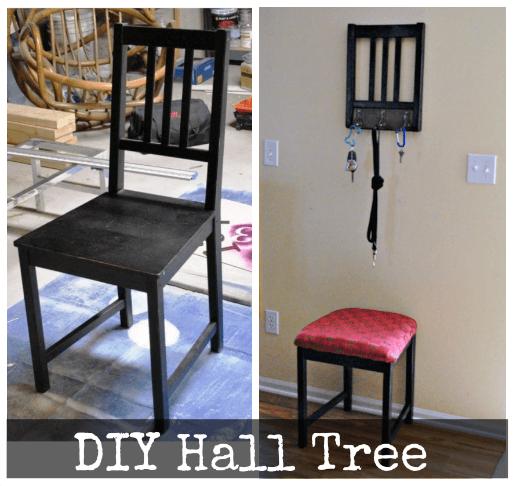 repurposed chair