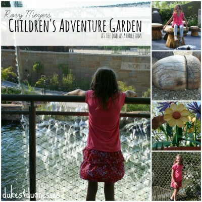 Rory Meyers Children's Adventure Garden {Dallas Arboretum}