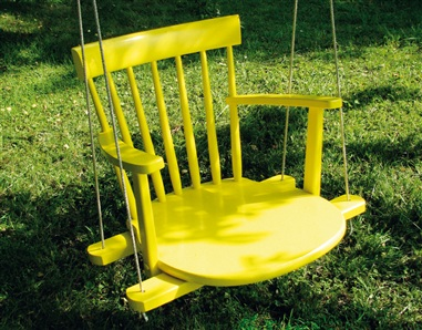 repurposed chairs