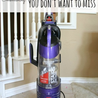 Holiday Entertaining :: 5 Must-Vacuum Spots You Don't Want to Miss