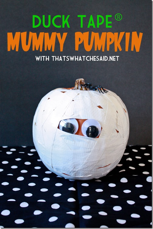 decorate a pumpkin