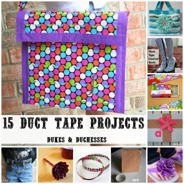 duct tape projects for girls