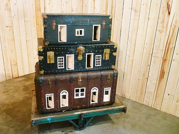 12 Ways to Repurpose Old Suitcases - Dukes and Duchesses