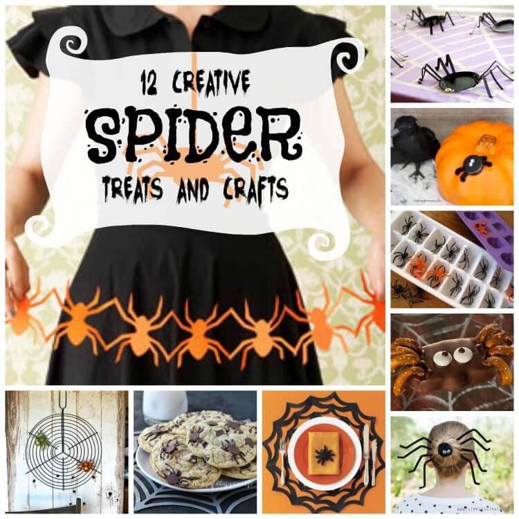 spider treats and crafts