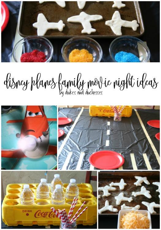 disney planes family movie night ideas