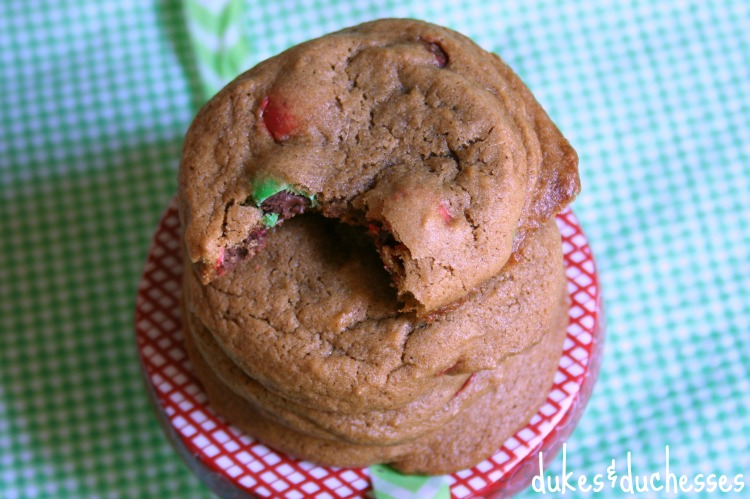 double gingerbread christmas cookies