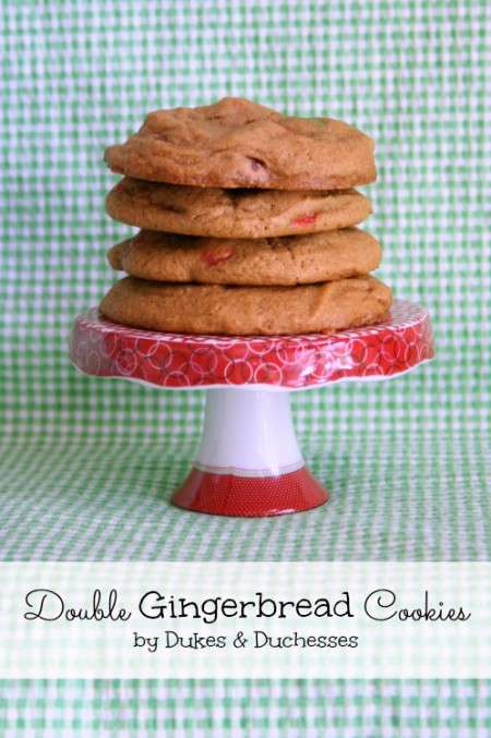 double gingerbread cookies