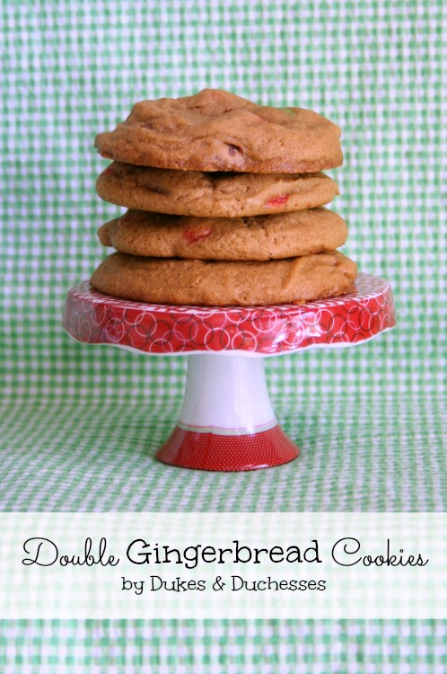 Double Gingerbread Cookies {and a Virtual Cookie Exchange} - Dukes and ...