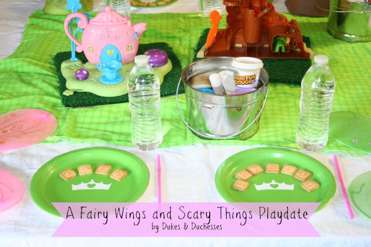 fairy wings and scary things playdate