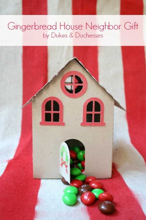 gingerbread house gift for neighbor