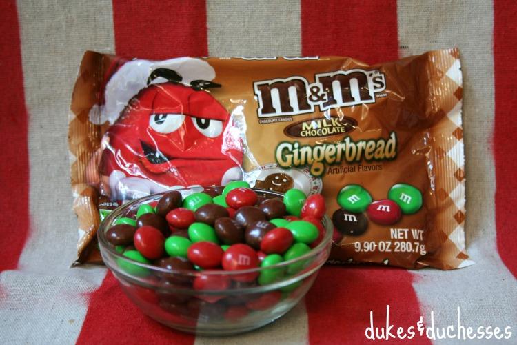 gingerbread m&m's