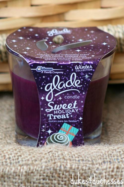 glade sweet holiday treat