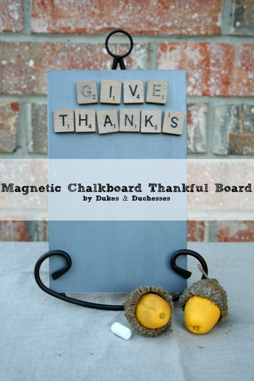 magnetic chalkboard thankful board
