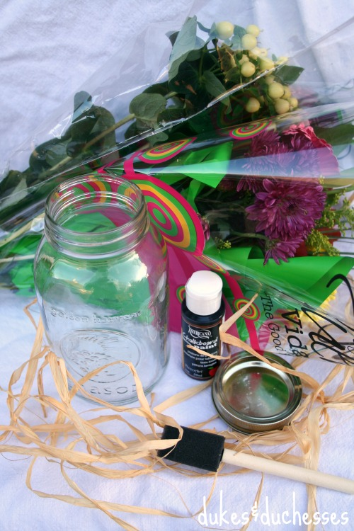supplies for bouquet