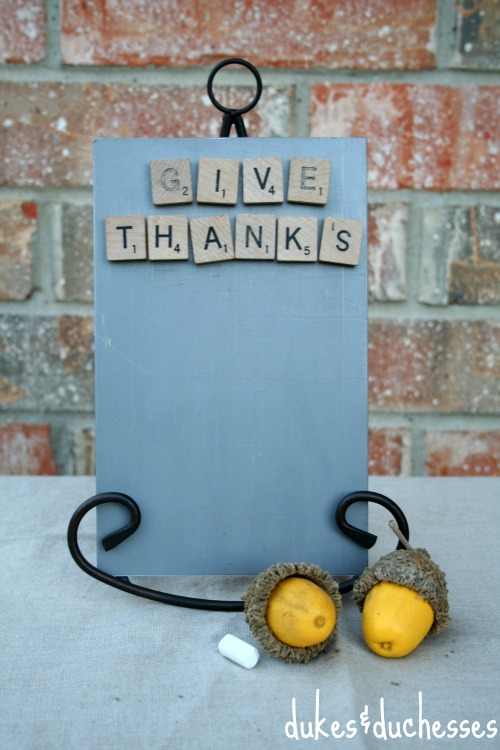 thankful board