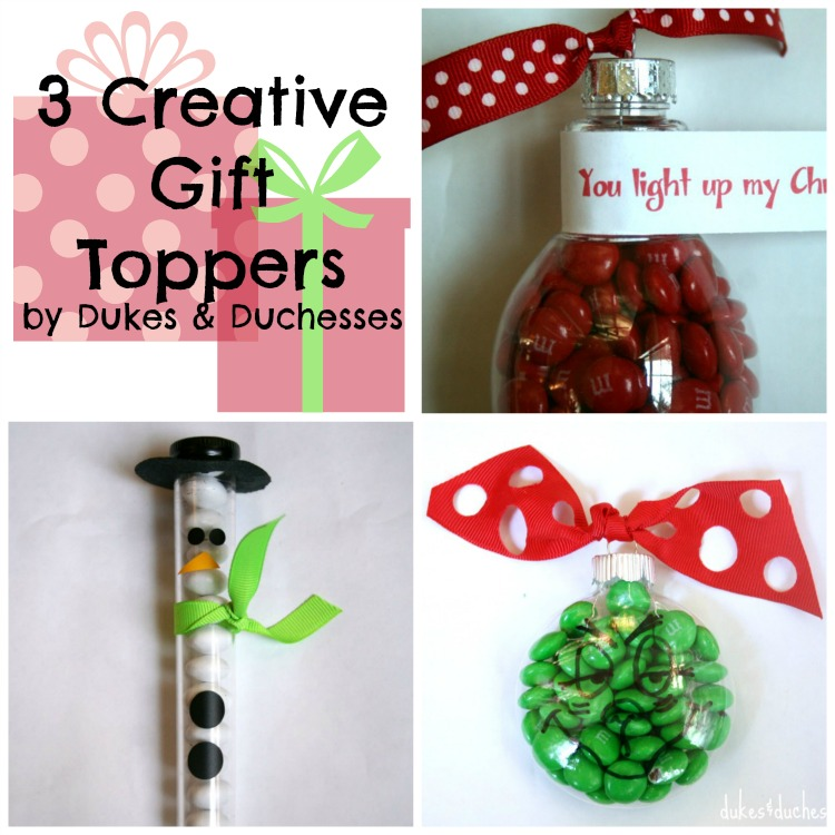 3 creative gift toppers #shop