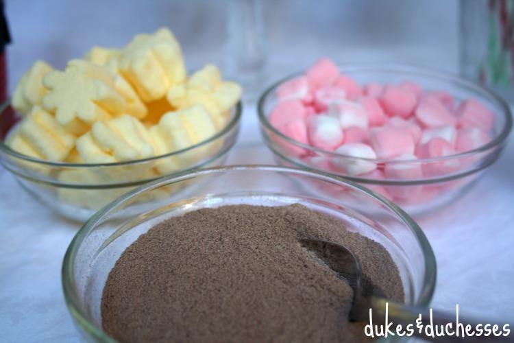 cocoa and marshmallows
