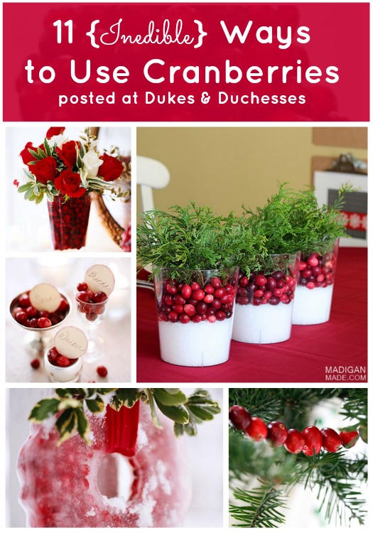 ways to use cranberries