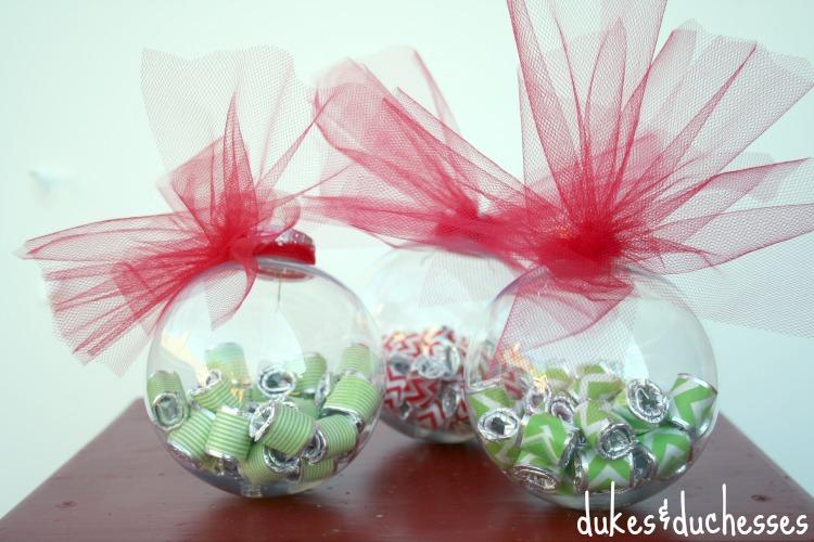 gum-filled Christmas ornaments #shop