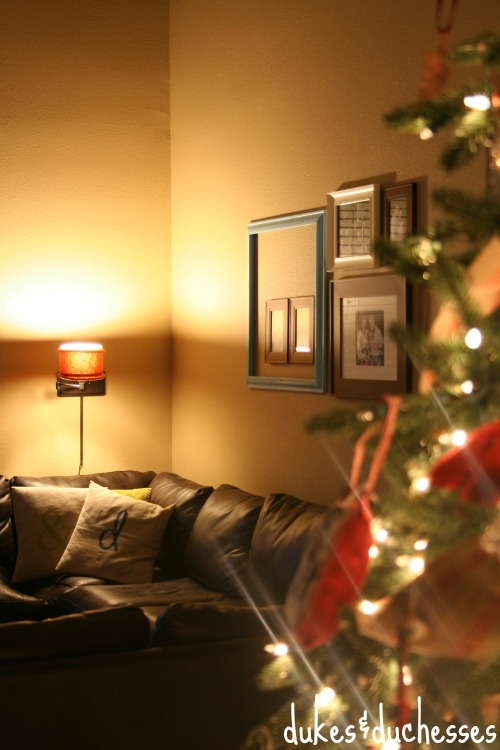 holiday ambiance with lighting