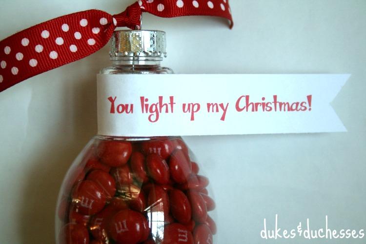 lightbulb gift topper #shop